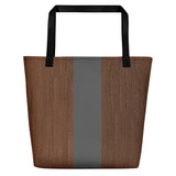 TOTE Bag | BROWN & GRAY