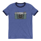 Ringer T-Shirt |OLD SCHOOL CAMERA