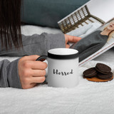 Matte Black Magic Mug | BLESSED