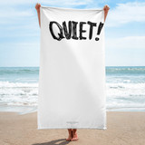 BEACH TOWEL | QUIET