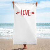 BEACH TOWEL | LOVE
