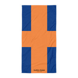 Towel | ORANGE AND BLUE