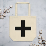Eco Tote Bag | Black CROSS