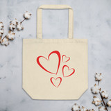Eco Tote Bag | HEARTS