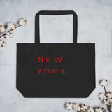 Large organic tote bag | NYC