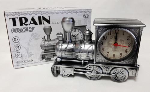 Steam Locomotive Engine Shaped Alarm Clock
