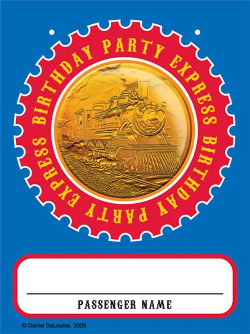 Clickety-Clack Train Passenger Badge