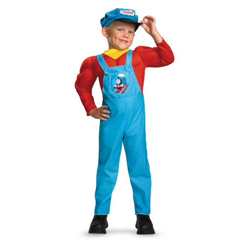 Thomas Classic Muscle Costume - LARGE (4-6)