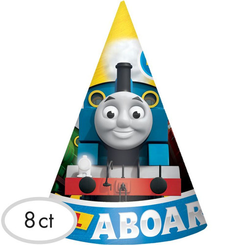 Thomas & Friends Full Steam Ahead Cone Hats (8 ct)