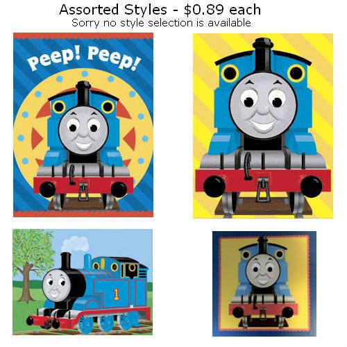 Thomas the Tank Engine Gift Enclosure Card