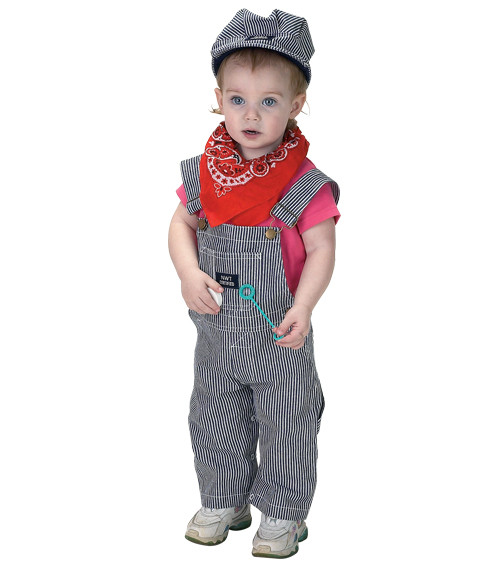 Jr. Train Engineer Costume : Size 18M