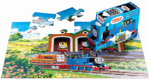 Thomas & Friends Off to Work Floor Puzzle Layout