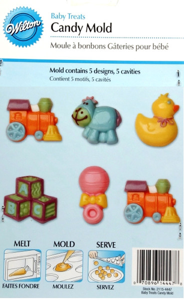 Baby Treats Candy Mold