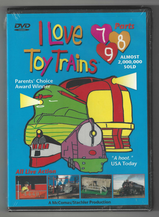 I Love Toy Trains DVD Parts (7-9) Front