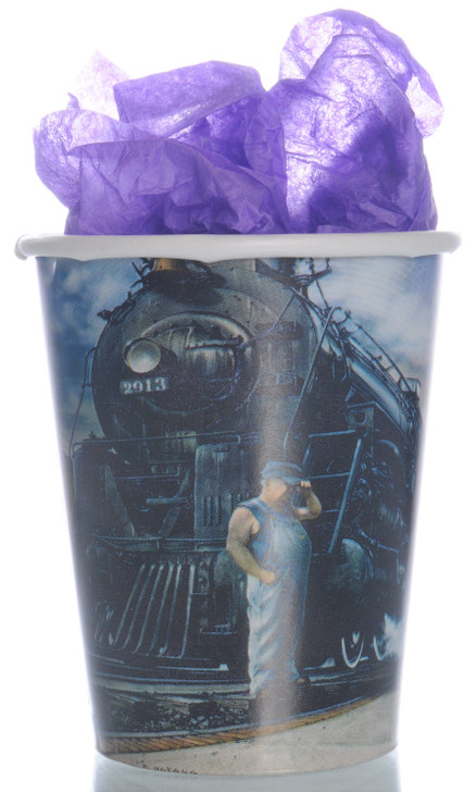 Whistle Stop Train Party 9 oz Paper Cups