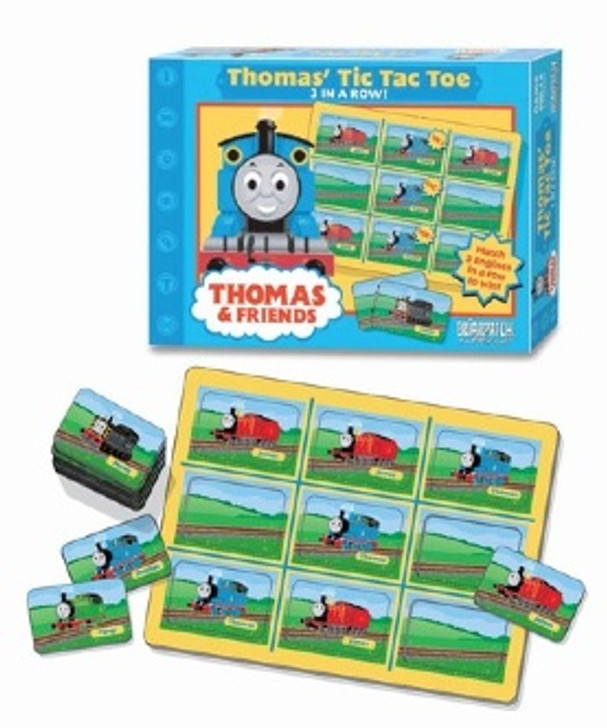 Thomas The Tank Engine Train Tic Tac Toe Game
