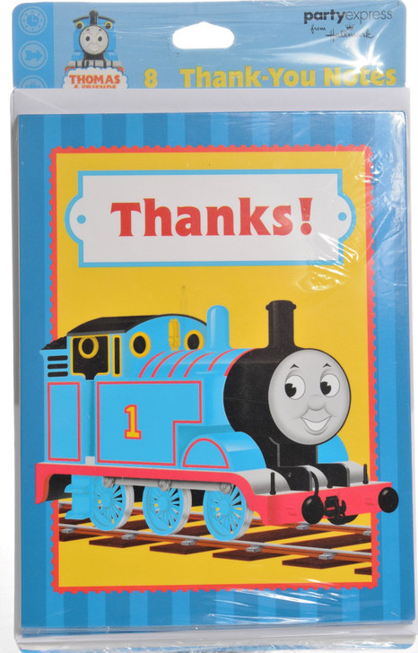 Thomas The Tank Engine  Thank You Cards