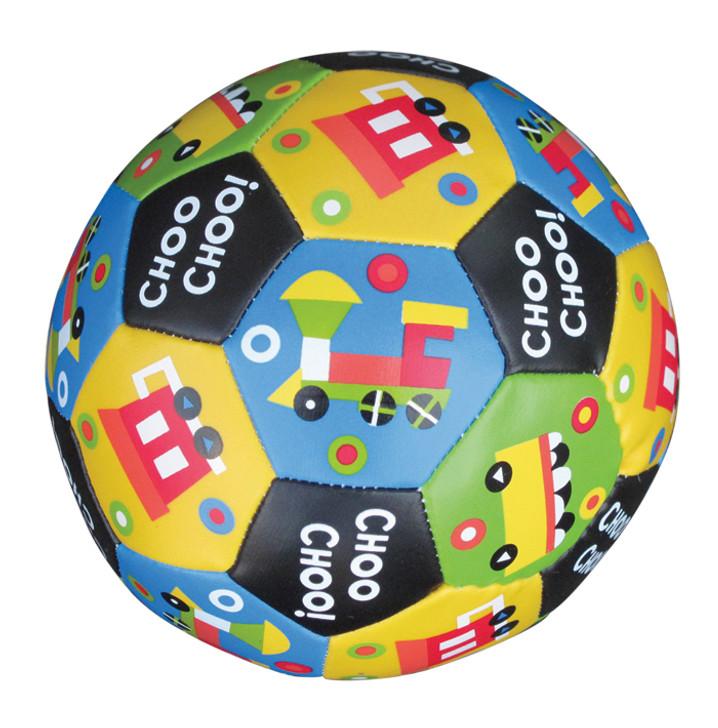 Soft Vinyl Train Imprint Soccer Ball