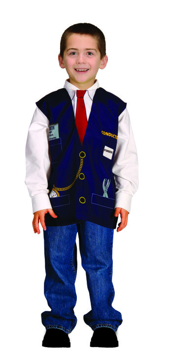 My 1st Career Gear Train Conductor Vest
