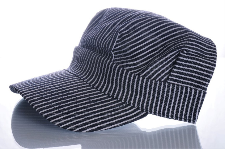 Railroad Engineer Hat Adult Size - Front