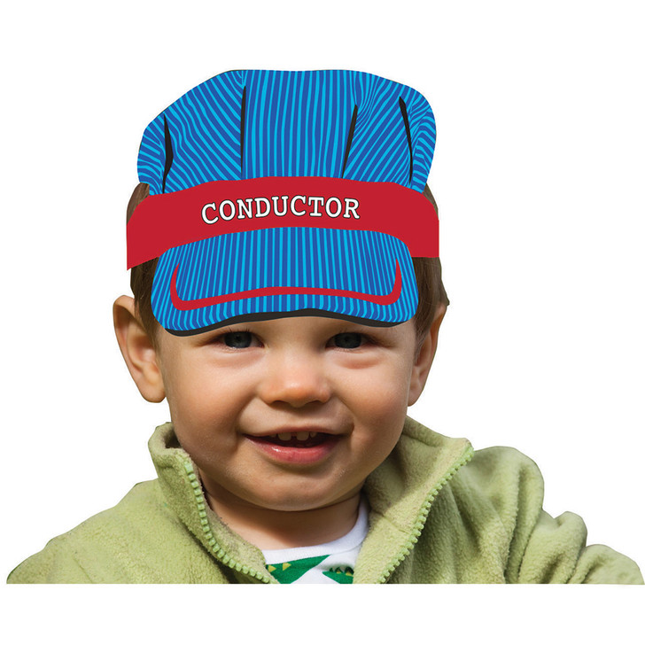 All Aboard! Train Conductor Headbands (8 ct)