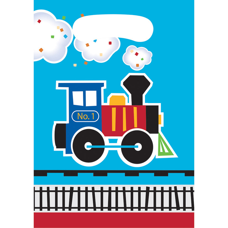 All Aboard Train Party Loot Bags (8 ct)