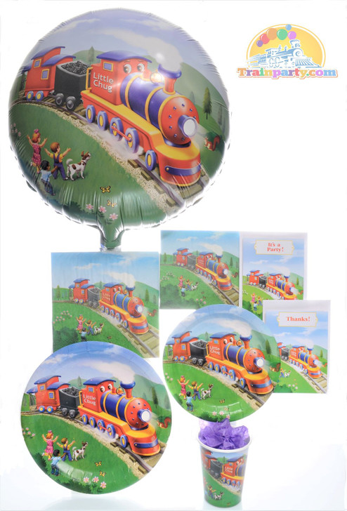 Little Chug Train Deluxe Party Pack