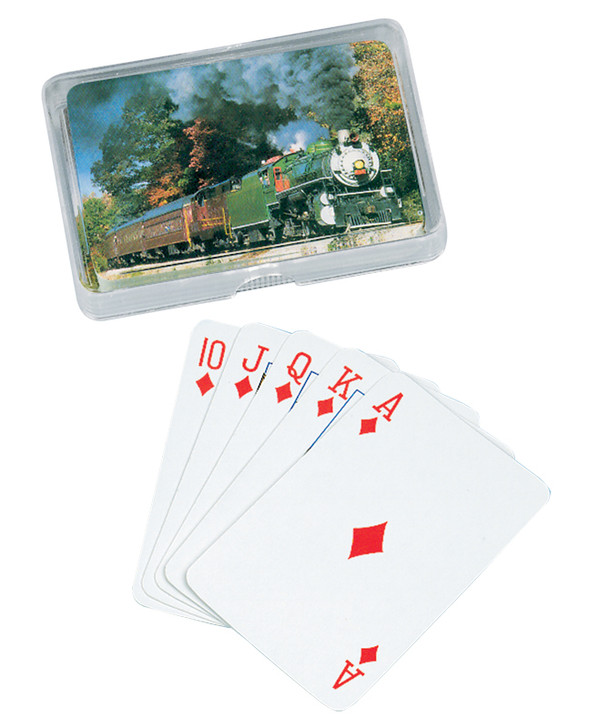 Steam Engine Playing Cards