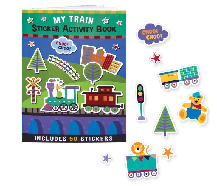 My Train Sticker Activity Book (50 Stickers)