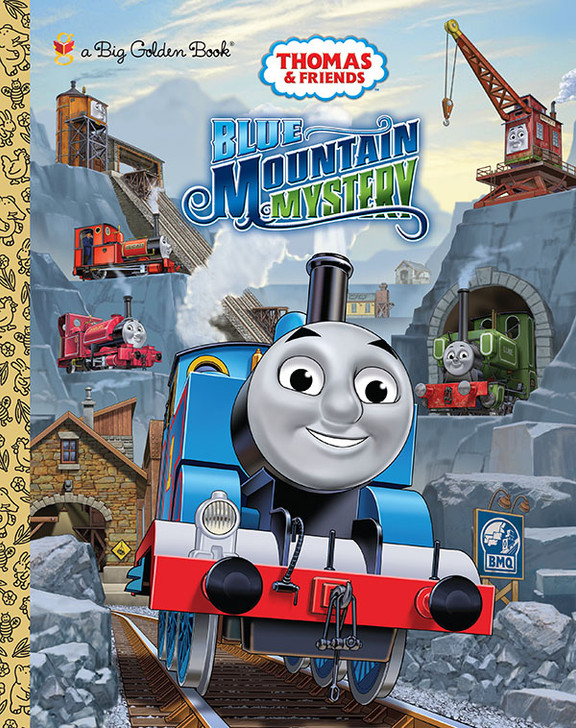 Thomas and Friends Blue Mountain Mystery Book