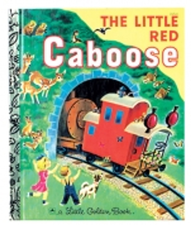 The Little Red Caboose Classic Golden Book