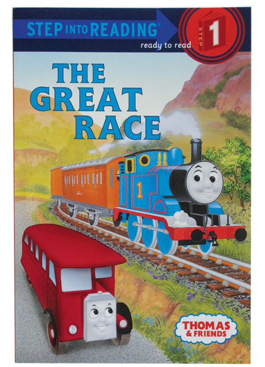 Thomas and Friends The Great Race Book