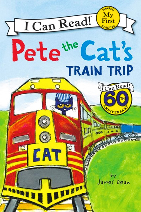Pete the Cat's Train Trip:  An I Can Read Book
