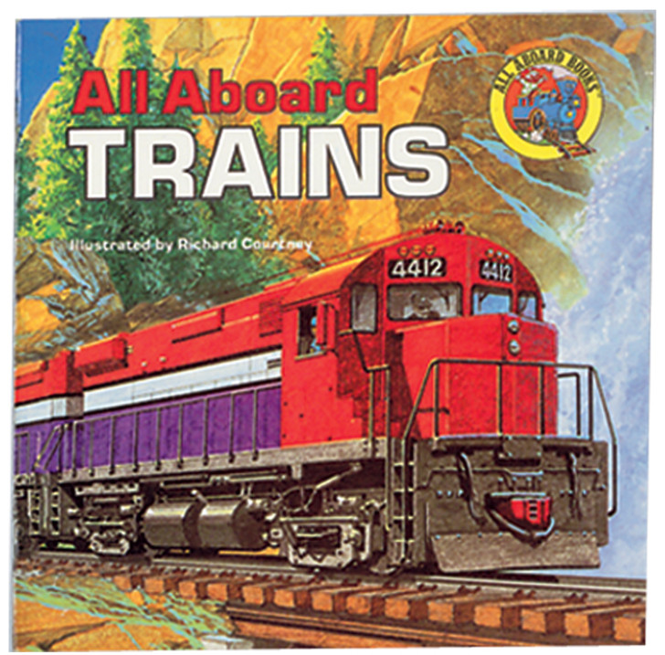 All Aboard Trains Book