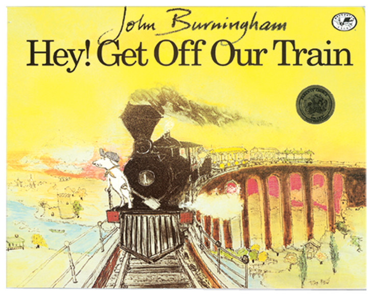 Hey! Get Off Our Train Book