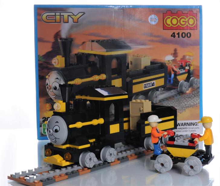 Happy Train 209 Piece Building Block Set