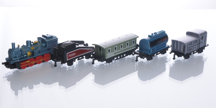 5 Piece Pull Back Train Set