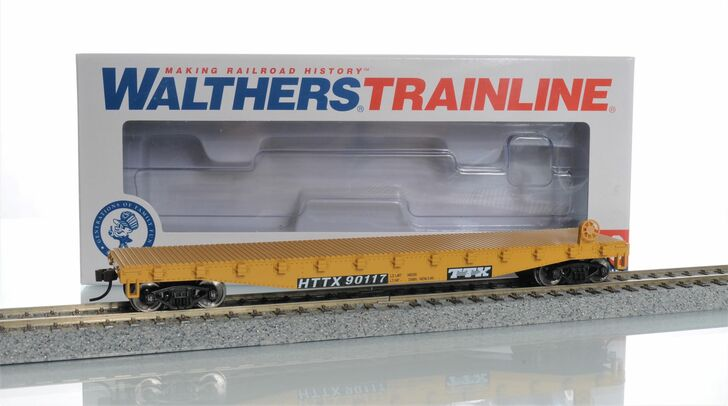 Walthers Trainline HO Scale TTX Flat Car