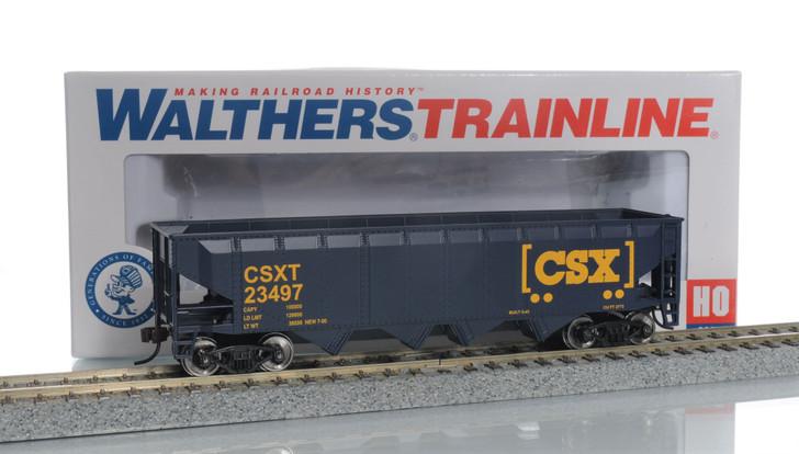 Walthers Trainline HO Scale CSX Coal Hopper