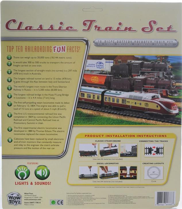 Classic Train Set (14 pcs.)