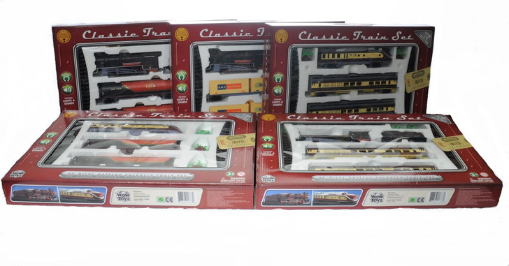 Deluxe Classic Train Set (20 pcs.)