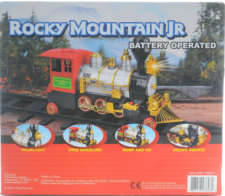 Rocky Mountain Jr. Bump and Go Locomotive