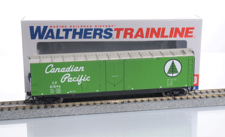 Walthers Trainline HO Scale Canadian Pacific Boxcar