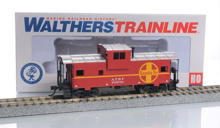 Walthers Trainline HO Scale Santa Fe Caboose