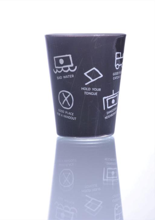 Hobo Codes Shot Glass