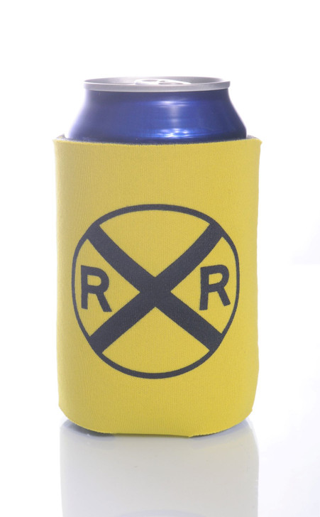 Railroad Crossing  Can or Bottle Folding Coolie
