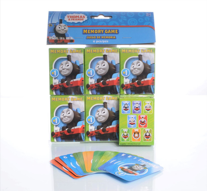 Thomas and Friends Memory Game (6ct)