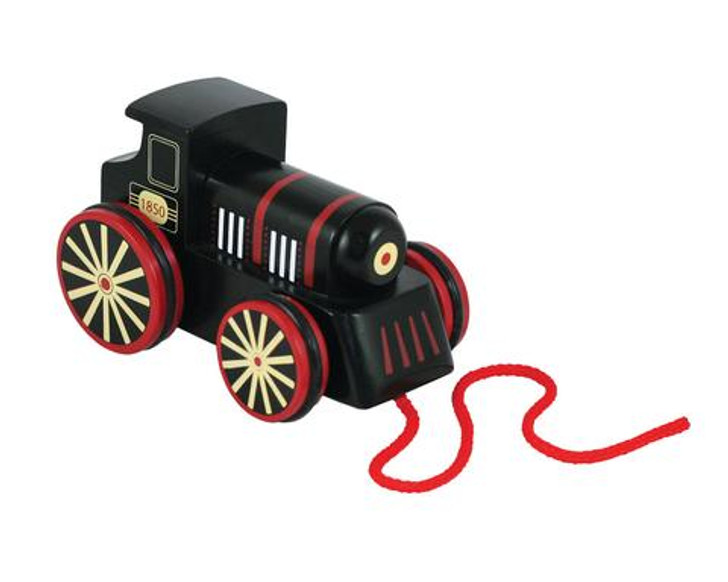 Lil' Chugs Wooden Pull-Along Steam Engine