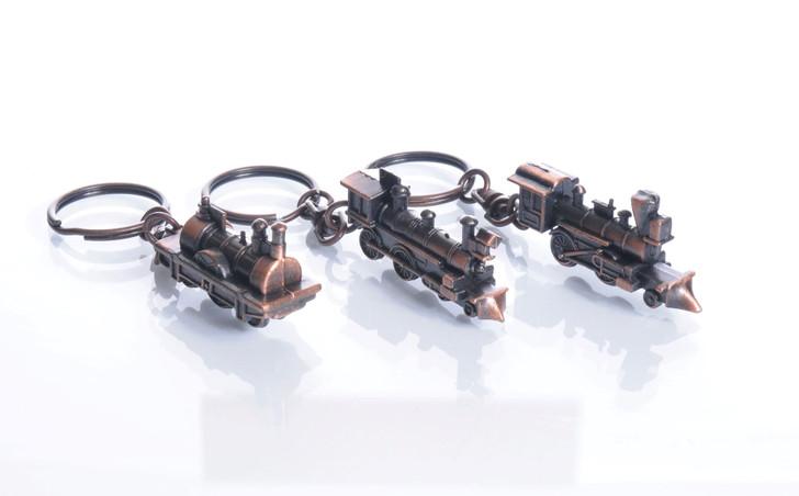 Locomotive Key Chain- Styles Vary