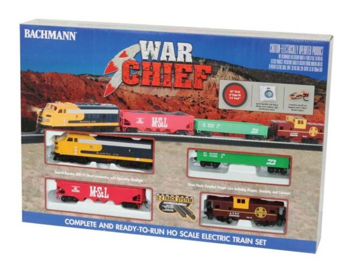 War Chief Train Set - Standard DC -- Atchison, Topeka & Santa Fe